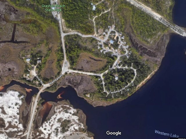Grayton Beach State Park Scenic Pathways