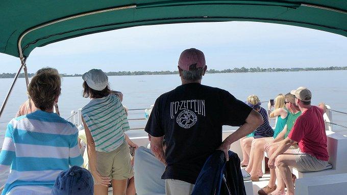 Island Tour Boat Ride