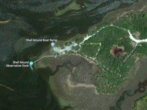 Shell Mound Hiking Trail and Boardwalk Cedar Keys Wildlife Preserve