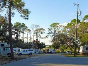 Cedar Keys Campground Shell Mound