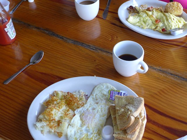Breakfast Review at Annies Cafe Cedar Key Florida