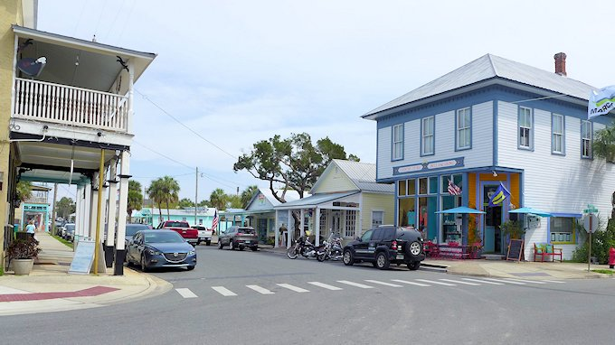Main Street Cedar Key Florida