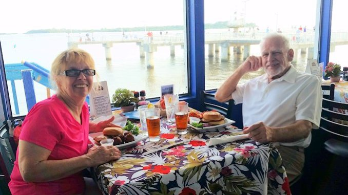 Duncans Gulf View Restaurant Cedar Key Florida