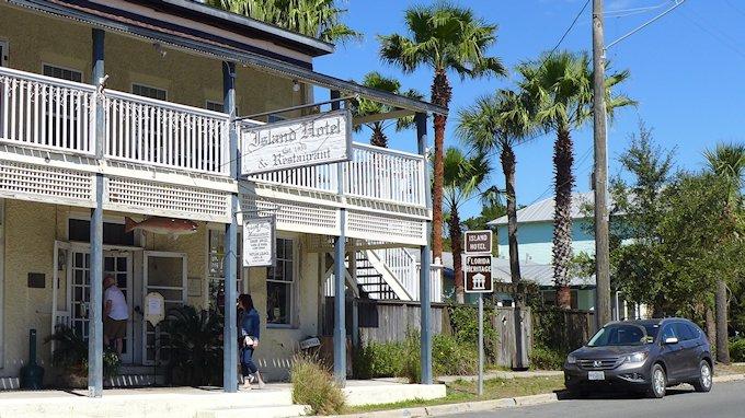 Island Hotel and Restaurant Cedar Key Florida