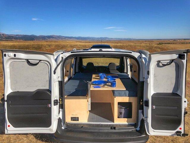 Contra Van modular camping units