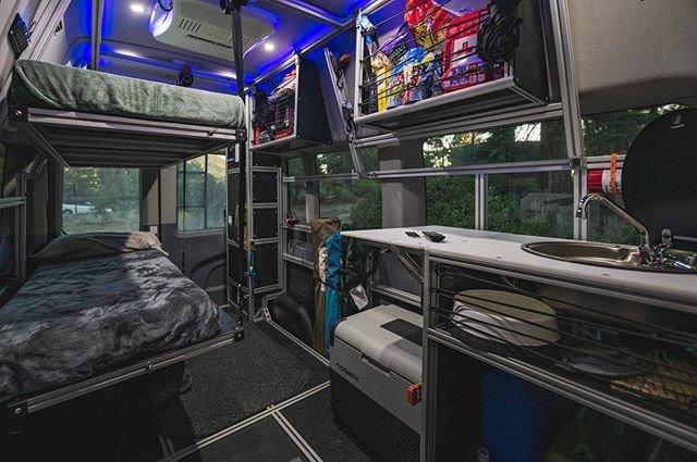 Van Do It Camper Van Floor Plan