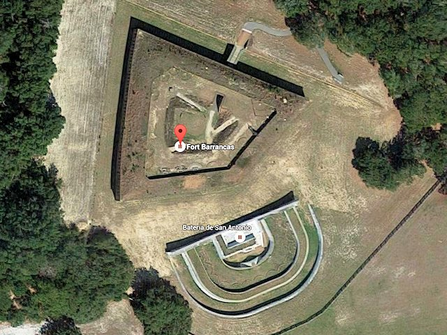 Fort Baranncas Aerial View