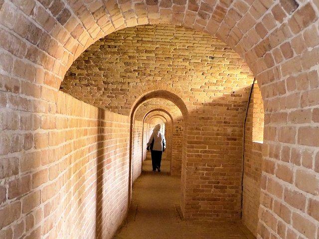 Fort Baranncas Inner Passageway