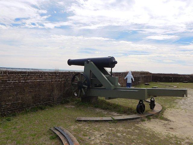 Fort Baranncas Canon