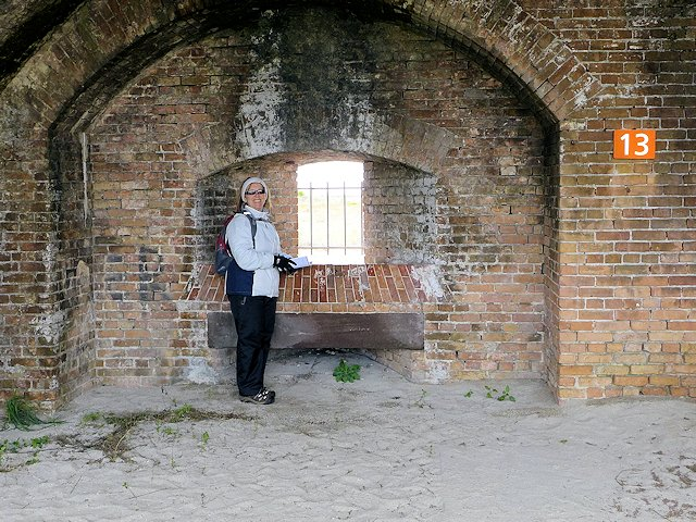 Fort Pickens Gun Port