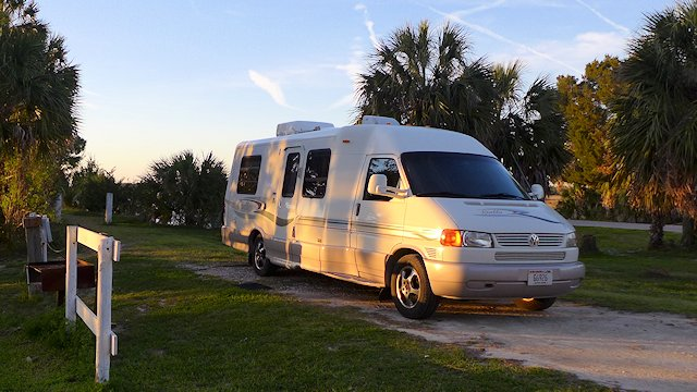 RV camping and travel