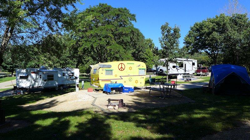 Grant River Corps Campground, Potosi WI