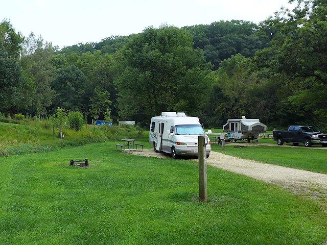 palisades campsite