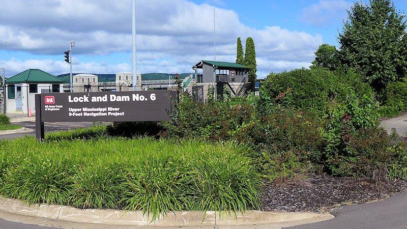 Trempealeau Lock and Dam