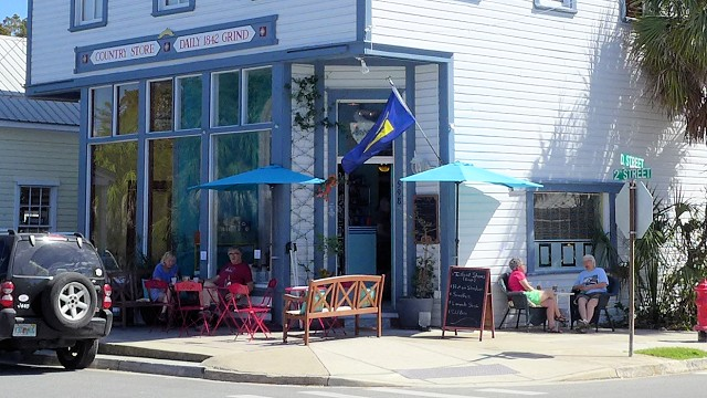 Daily Grind & Mercantile Cafe, Cedar Key Florida