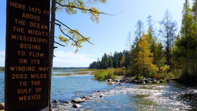 mississippi headwaters Lake Itaska