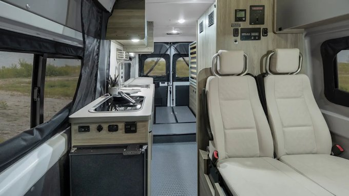 Winnebago Solis interior