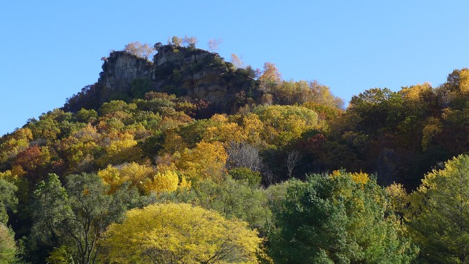 Kings Bluff Fall Color