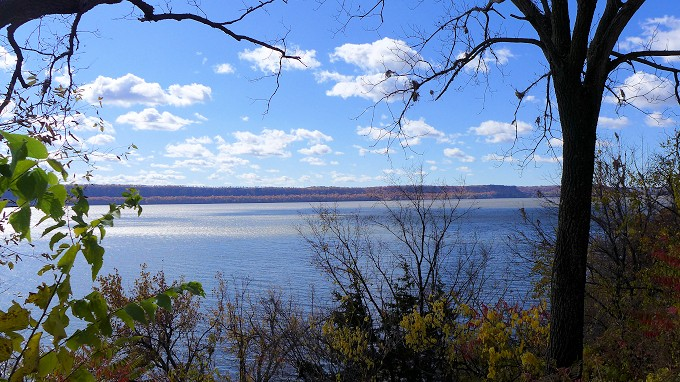 Mississippi River near Maiden Rock, WI