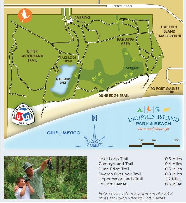 Audubon Bird Sanctuary Trail Guide