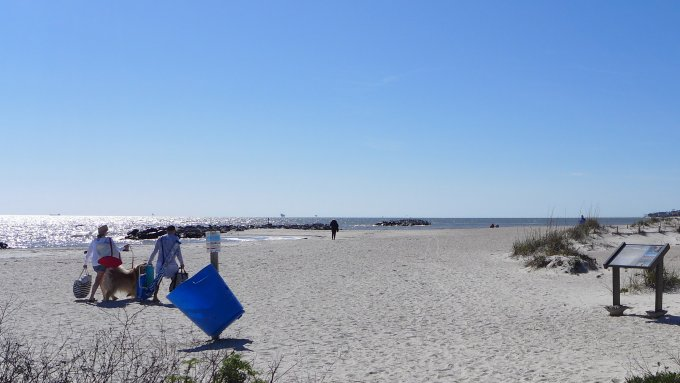 dauphin island east beach