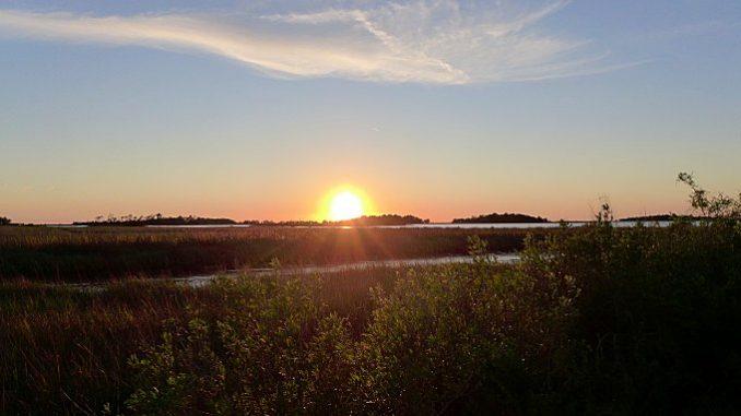 sunset cedar keys national wildlife refuge