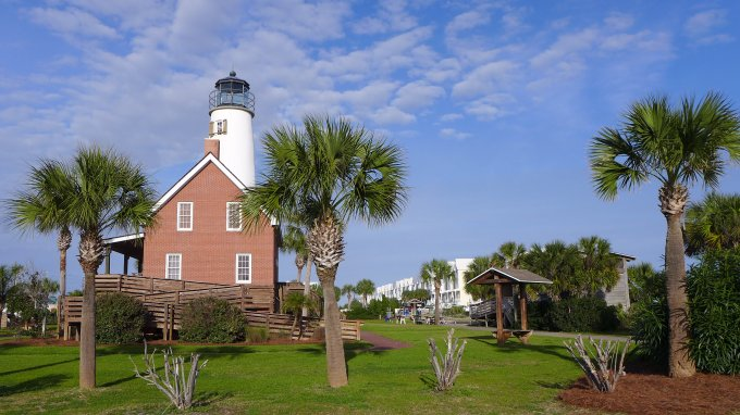St. George Island Lighthouse and Visitor Center