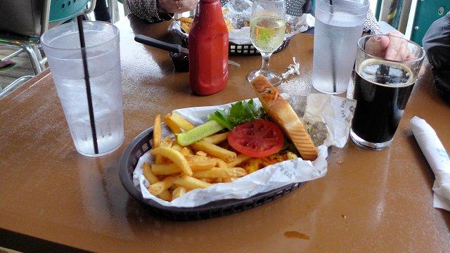 Peg Leg Pete's Grouper Sandwich, Pensacola Beach