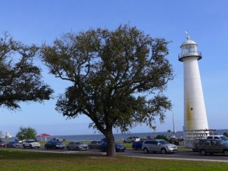 Biloxi Mississippi's historic lighthouse