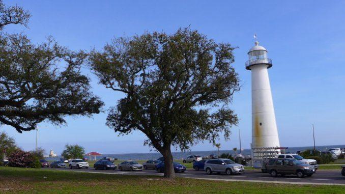 Biloxi Mississippi's historic lighthouse
