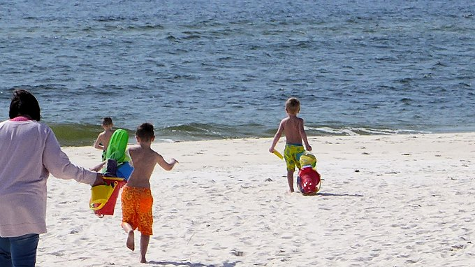 johnson's Beach of the Gulf Islands National Seashore