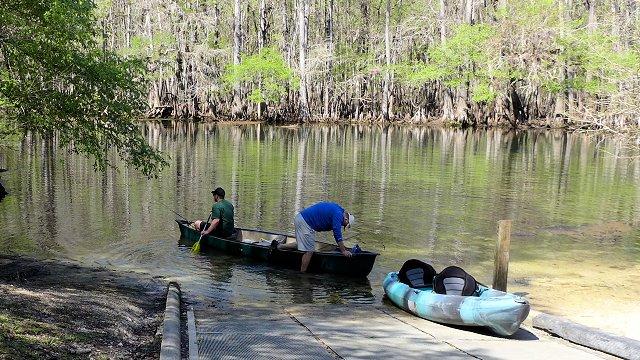 manatee springs fishing