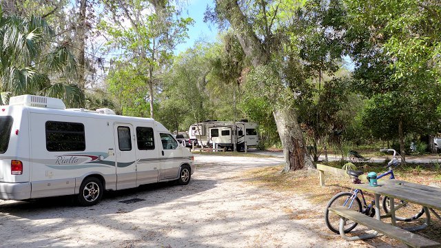 Manatee Springs State Park Camping