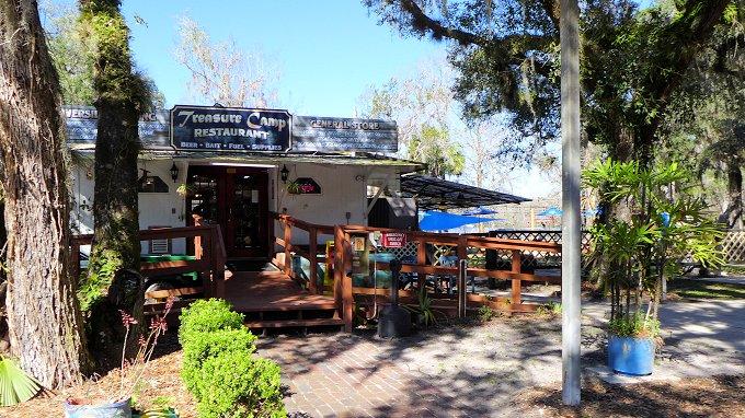 Treasure Camp Restaurant Chiefland Florida