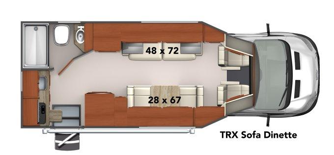 Phoenix TRX floorplan