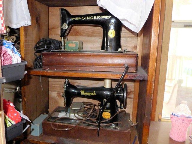 antique quilting machines