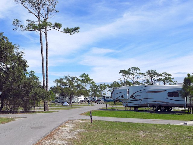 Fort Pickens Campground Gulf Coast Scenic Drive Scenic